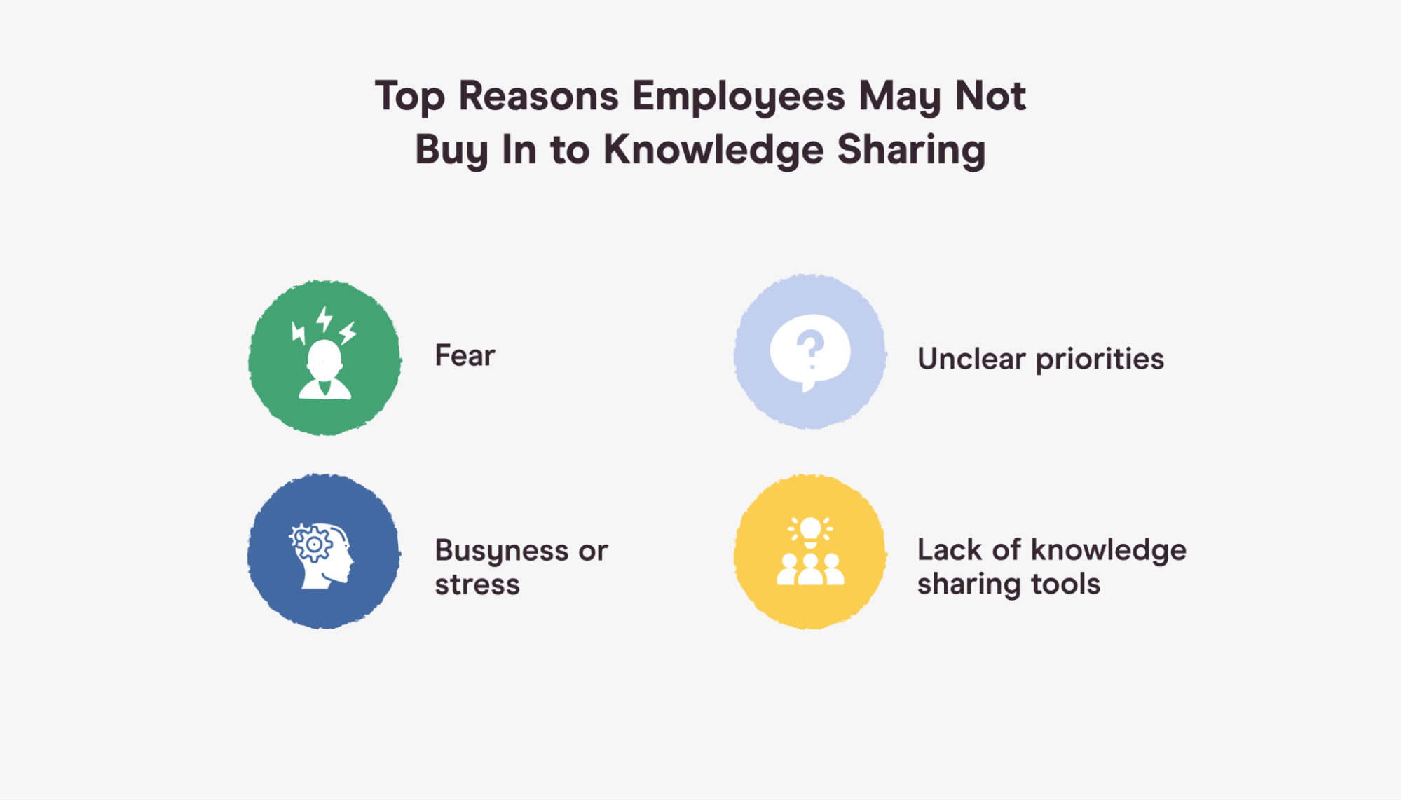 barriers to knowledge sharing