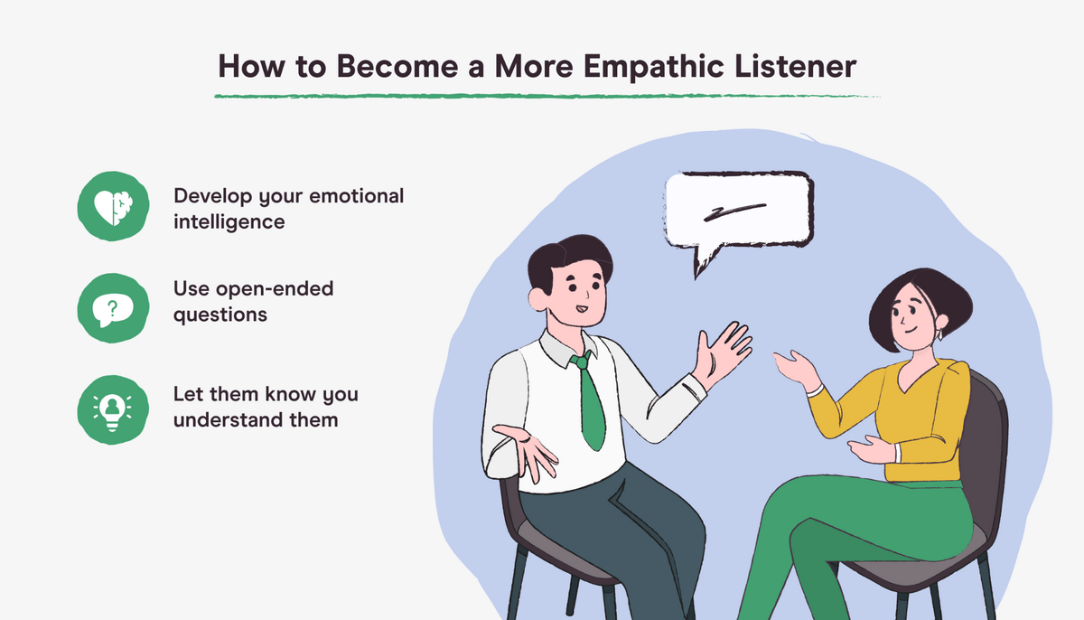 how to become an empathic listener